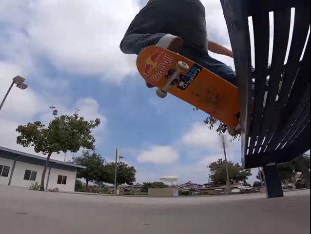 Sewa Kroetkov gopro redbull skateboard shop andskate fukuoka itoshima