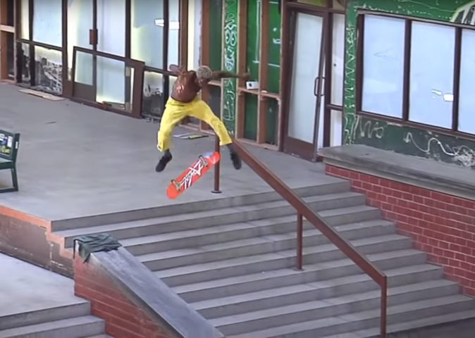 Leandre Sanders skate goat skateboard shop andskate fukuoka itoshima