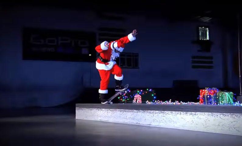 merry christmas Santa Torey Pudwill skateboard skateboardshop andskate 福岡 糸島