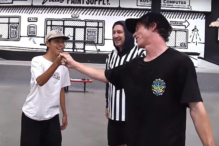 BATB Kyonosuke VS. Donny skateboard shop andskate fukuoka itoshima